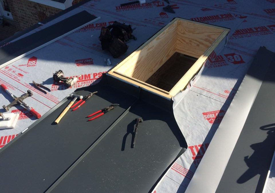 No caulk standing seam skylights in Smithsburg, MD