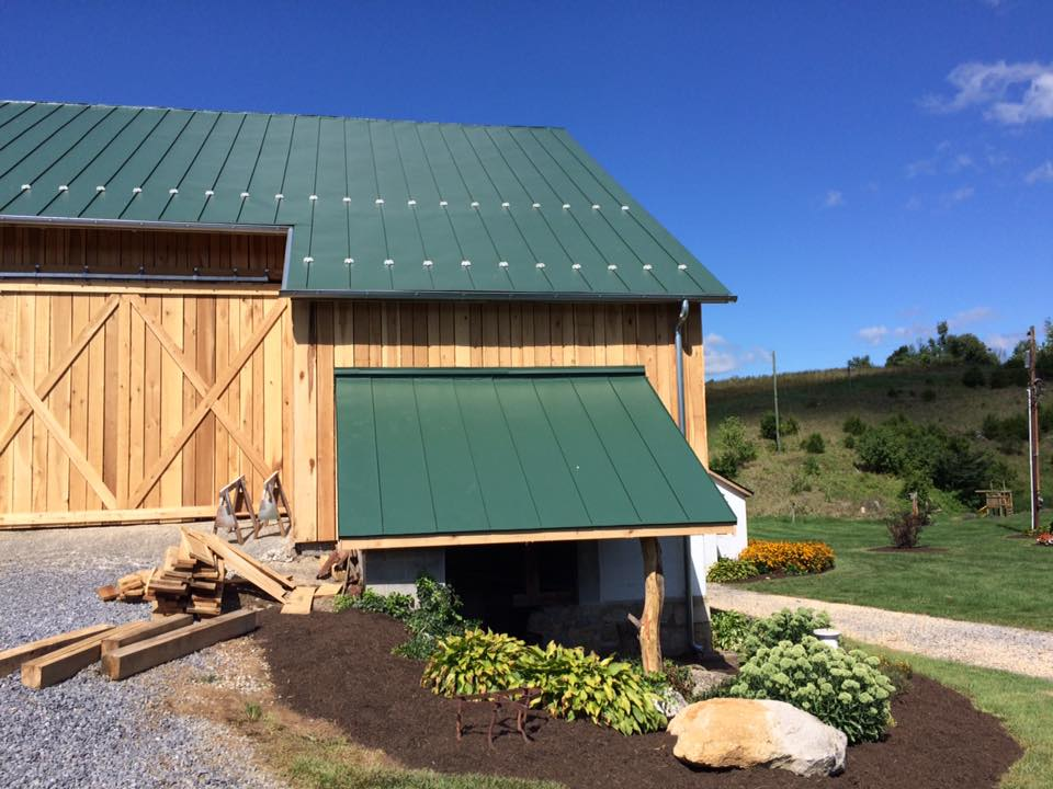 Bank Barn Project In Clear Spring Md Catoctin Valley