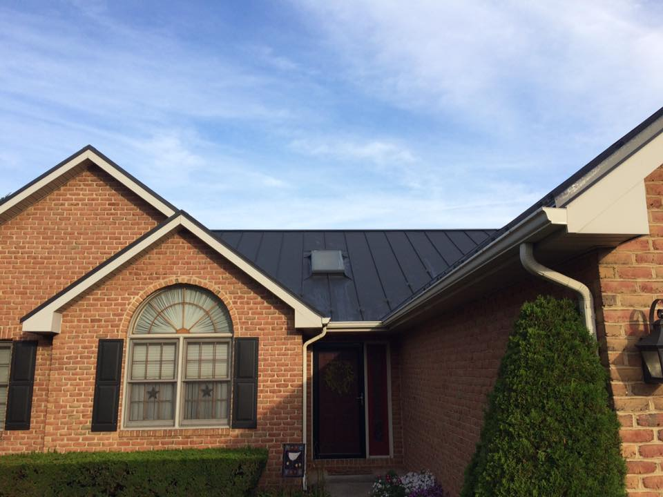 Standing Seam Roof In Williamsport Md Catoctin Valley Roofing