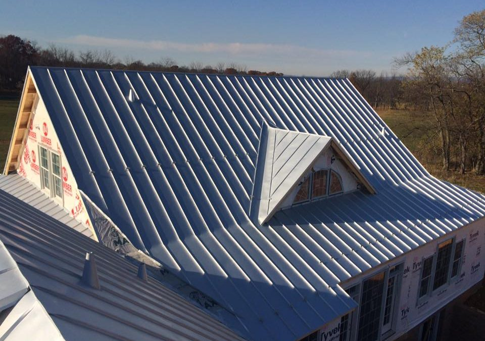 Standing seam roof in Charlestown, WV