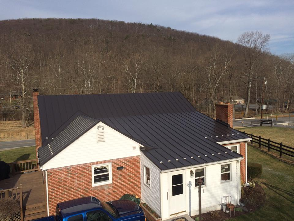Standing Seam Roof In Clear Spring Md Catoctin Valley