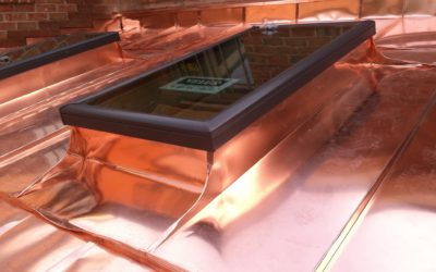 Copper No Caulk Skylights
