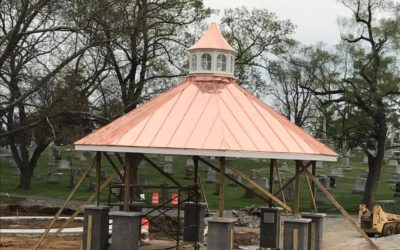 Copper roof in Hagerstown, MD